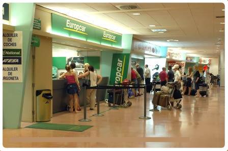 Letiště Malaga Auta online , Autopůjčovna levně